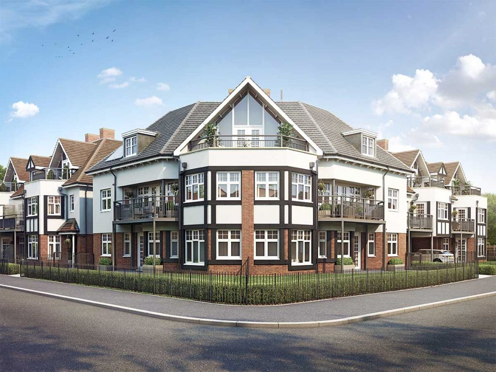 Burns Court, Gidea Park new apartments for sale