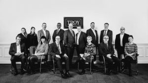 Troy Homes head office team